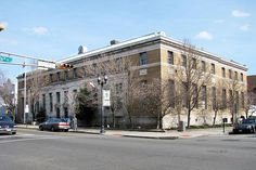 Bayonne, NJ post office by PMCC Post Office Photos, via Flickr