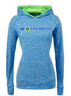 Be The Match Hooded Raglan Sweatshirt