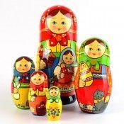 Russian Nesting Dolls, Imported Matryoshka Dolls