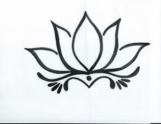 Image result for how to draw easy yoga design