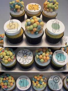 Kitchen, Dining & Bar Other Baking Accessories Frank Mad Science Scientist Chemistry Edible Cake Or Cupcake Toppers Decoration