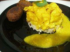 Salsa al curry: Haz un guiño a la cocina del sureste asiático acompañando tus guisos, estofados o verduras salteadas con salsa curry.