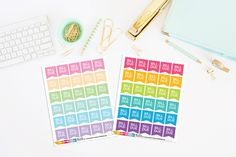 Bill Due Planner Flags | Bill Due | Planner Stickers (30 Stickers) by TheCleverDesign on Etsy