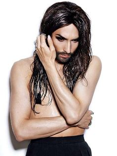 Conchita Wurst Covers German 'Rolling Stone' With Full Beard And Nipple Pasties | Idolator