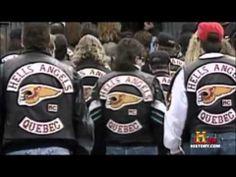▶ documentary - gangs - Hells Angels - Montreal, Canada. - YouTube Der Club, Hells Angels, Cultural Experience, Montreal Canada, Quebec, Documentary, Crime, Red And White, Bikers