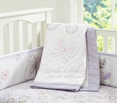 I love the Gabrielle Nursery Bedding on potterybarnkids.com