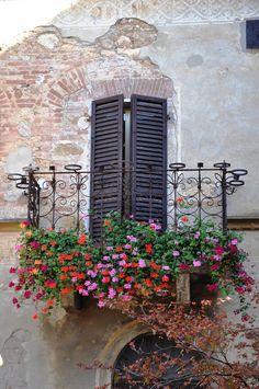 delizioso balconcino