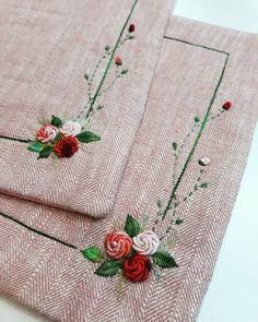 silk ribbon embroidery how to #Silkribbonembroidery