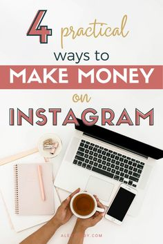 Wondering how to make money from home? This blog gives you 4 practical ways you can make money on Instagram with zero start up costs! Perfect for those wondering how to make money online for beginners.   #makemoneyoninstagram #makemoneyfromhome #makemoneyonlineforbeginners More Followers On Instagram, Get More Followers, Make Money Blogging, Make Money Online, How To Make Money, Instagram Marketing Tips, Instagram Tips, Blogging For Beginners, Social Media Tips