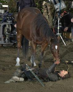 Viggo and His Horse!!! <3 So cute!
