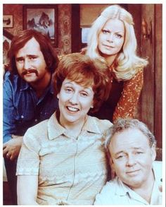 "All in the Family...remember ""meathead""? It's so weird now that racism and sexism were so ""funny?"""