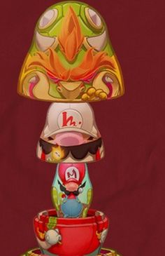 Inner Heroes: Nintendo Matryoshka Dolls T-shirts It's time...