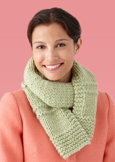Free Knitting Pattern: Double-Strand Garter Ridge Scarf