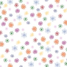 School Days Bold - paper flowers - a digital scrapbooking paper by Marisa Lerin