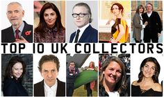 Meet the UK's Top 10 Contemporary Art Collectors