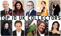 Meet the UK's Top 10 Contemporary Art Collectors