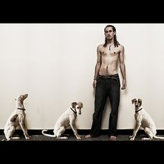 Dreaded Man and Dogs.