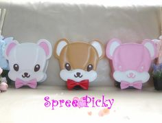 #spreepicky #lolitabag #bearhead #bearbag #freeship   ONE SIZE: length/20.5 cm height/21 cm thickness/8.5 cm rabbit ears height/19 cm  Made of PU leather  weight: 500g  It takes about 3-5 working days to process your order and  10-30 working days for shipment depending on the destinations.  A tracking number will be offered as soon as the ...