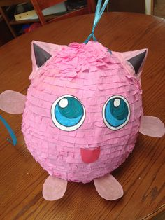 Jigglypuff pinata - Step by Step instructions