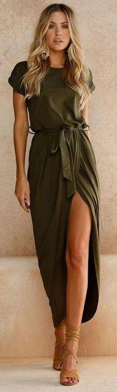 $29.99 - Asymmetrical Half Wrap Dress - The Slim Wallet Company