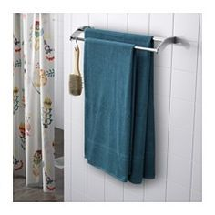 IKEA - FRÄJEN, Bath sheet, The long, fine fibers of combed cotton create a soft and durable towel.A terry towel in medium thickness that is soft and highly absorbent (weight 500 g/m²).