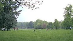 Bois de la Cambre is a nice park in Brussels. There's always someone selling ice cream, waffels etc!