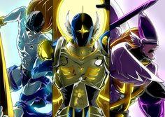 Digimon Dragon's Shadow: Angemon x Magnaangemon x Seraphimon