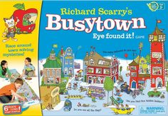 Booktopia has Richard Scarry's Busytown Eye Found It! Game by Wonder Forge. Buy a discounted Game of Richard Scarry's Busytown Eye Found It! Game online from Australia's leading online bookstore. Games For Boys, Games For Toddlers, Toys For Girls, Toddler Activities, Toddler Preschool, Girl Toys, Fun Games, Best Family Board Games, Family Boards