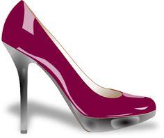 clip art heels | Purple High Heel Clip Art at Clker.com - vector clip art online ...