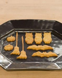 Halloween Blue Cheese Crackers Recipe