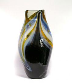 Wazon szklany Corvo wykonany ręcznie Mdina Glass