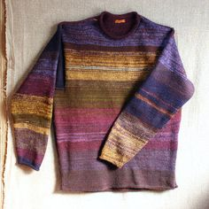 Boysenberry size S Mens M Womens Knit Sweater by WrapturebyInese, $175.00