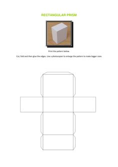 NIFT Situation Test - rectangular Prism- Making 3D Shapes with paper