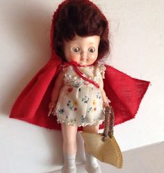 Pedigree Delite Red Riding Hood doll, all original.