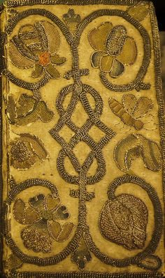 Embroidered Binding - Bible: English Authorised (1643) University of Glasgow Library, Special Collections Sp Coll Euing Dk-i.17