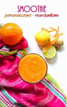 Całkiem zdrowo: Smoothie pomarańczowo - marchewkowe