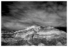 Desert Mountain - Black & White Film Photograph © 2013 Tom Colgan