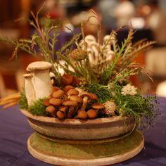 Beautiful, creative, table arrangements.