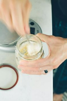 If you think you have to waste starter to keep baking, think again. Here's a tutorial on feeding a sourdough starter without having to discard! Sourdough Starter Discard Recipe, Yeast Starter, Sourdough Recipes, Artisan Bread Recipes, Bread Machine Recipes, Bread Ingredients, Bread Baking, Yeast Bread, Daily Bread