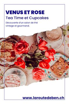 Venus et Rose English Tea Room est un salon de thé vintage situé à Ollon en Suisse. #tearoom #cake #suisse #cupcakes English Tea, Cupcakes, Rose, Vintage Tea, Vintage Crockery, Switzerland, Fine Dining, Greedy People, Food