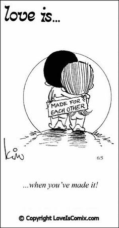 Love is. Comic Strip, Love Comic, Love Quotes, Love Pictures - Love is. Comics - Comic for Sat, Apr 2013 What Is Love, I Love You, Just For You, My Love, Love Is Cartoon, Love Is Comic, Couple Cartoon, Valentines Party Decorations, Love My Husband