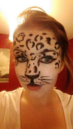 Snow Leopard Makeup