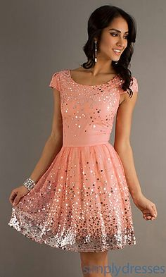 Pink simple dress