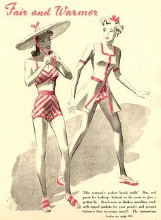 FREE Vintage Bikini Pattern