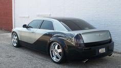 black & gray Chrysler 300 Chrysler 300c Hemi, Chrysler 300s, Dodge Chrysler, Custom Wheels, Motor Sport, Sexy Cars, Amazing Cars, Mopar, Drawing Ideas