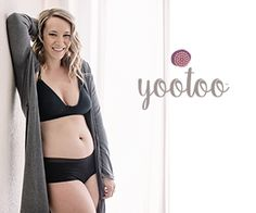 c96c7a85d7 The yootoo nursing bra flexes and stretches for a constant fit. Breathable