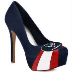 Image Detail for - Houston texans NFL high heels