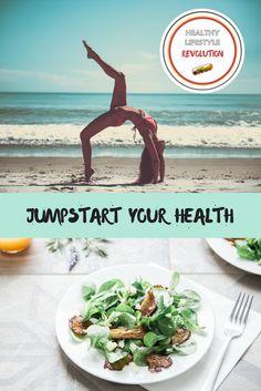 Jumpstart Your Health.... denn Gesundheit ist die Basis für alles.