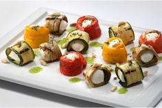Delicious recipe: Rolls with mozzarella and vegetables