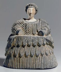 Composite stone female figure. Bactrian, c. late 3rd - early 2nd millennium B.C. | Christie's